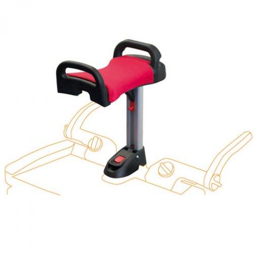 Lascal platformos kėdutė Buggy Board Saddle MAXI Red