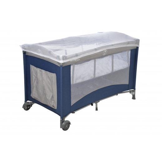 Kelioninė lovytė Britton Siesta DARK NAVY 120 x 60