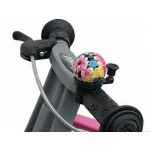 """FIRST BIKE dviračio skambutis """"Gėlės"""""""