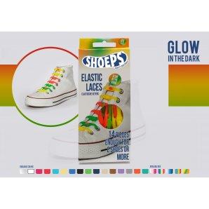Shoeps elastingi batų raiščiai GLOW