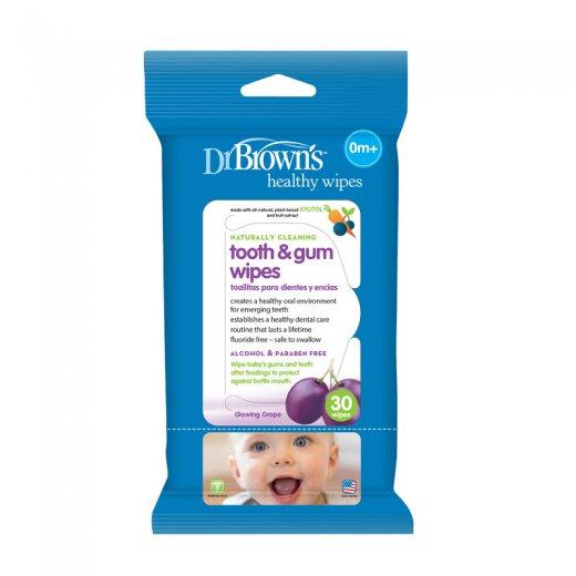 Servetėlės kūdikių dantims ir dantenoms, 30 vnt.