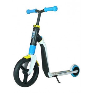 Paspirtukas / Balansinis dviratis Scoot and Ride Highwayfreak WHITE/blue/yellow