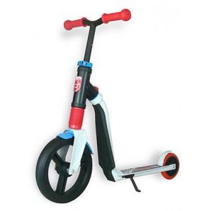 Paspirtukas / Balansinis dviratis Scoot and Ride Highwayfreak WHITE/red/blue