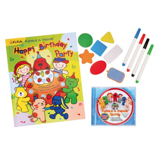 3D Pop Up Activity Book
