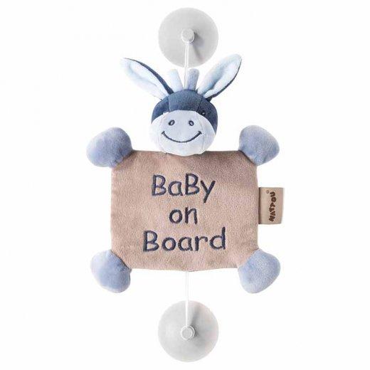 """Pliušinis pakabinamas žaislas """"Baby on Board"""" Asiliukas Alex"""