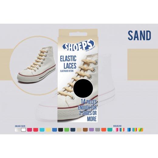 Shoeps elastingi batų raiščiai SAND