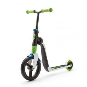 Paspirtukas / Balansinis dviratis Scoot and Ride HighwayFreak balta / žalia / mėlyna