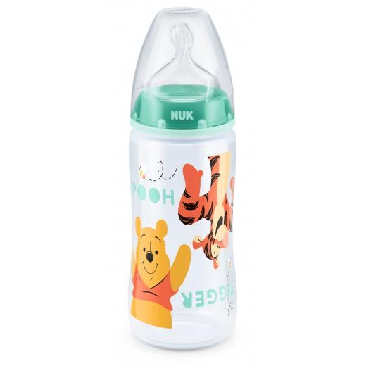 NUK Disney FC+ polipropileno buteliukas 300ml su silikoniniu žinduku M Nr.1
