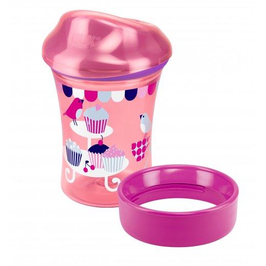 NUK Vario mokomasis puodelis 2 in 1 250 ml. 12+