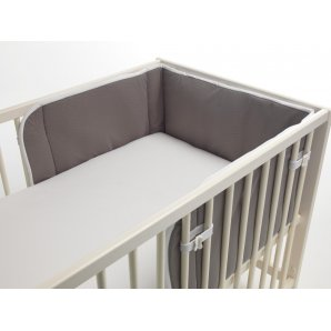 Aerosleep lovos apsauga PILKAI / BALTA