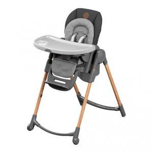 Aukšta maitinimo kėdutė Maxi Cosi MINLA ESSENTIAL GRAPHITE