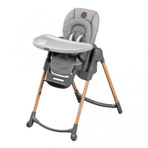 Aukšta maitinimo kėdutė Maxi Cosi MINLA ESSENTIAL GREY