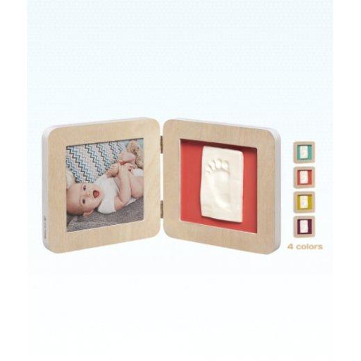 BABY ART dvigubas kvadratinis nuotraukos rėmelis su įspaudu Scandinavian