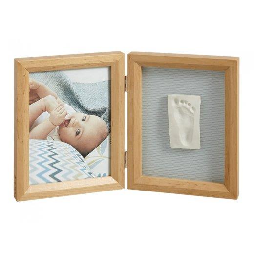 BABY ART dvigubas stačiakampis nuotraukos rėmelis su įspaudu  HONEY