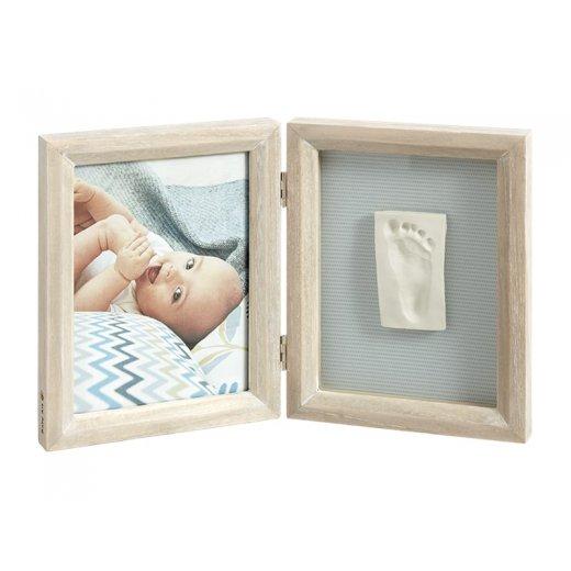 BABY ART dvigubas stačiakampis nuotraukos rėmelis su įspaudu  STORMY